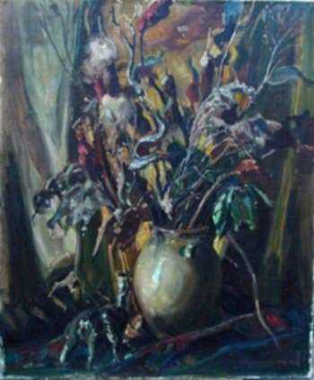 Painting by W. Lester Stevens: Still Life, represented by Childs Gallery