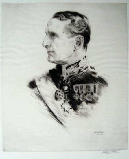 Print by Walter Tittle: Lord of Fareham, represented by Childs Gallery