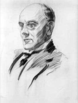 Print by Walter Tittle: Sir Auckland Geddes, represented by Childs Gallery