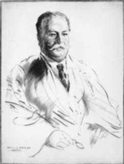 Print by Walter Tittle: William Howard Taft, represented by Childs Gallery