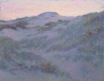 Pastel by William Partridge Burpee: [Sand Dunes], represented by Childs Gallery